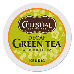 Celestial Seasonings® Decaffeinated Green Tea K-Cups, 96/Carton