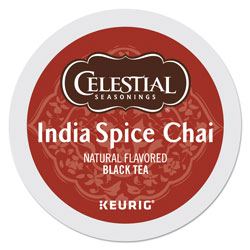 Celestial Seasonings® India Spice Chai Tea K-Cups, 24/Box
