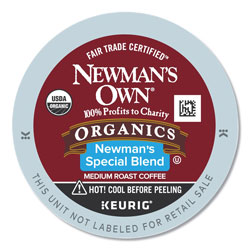 Newman's Own® Special Blend Extra Bold Coffee K-Cups, 96/Carton