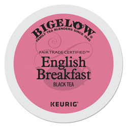 Bigelow Tea Company English Breakfast Tea K-Cups Pack, 24/Box