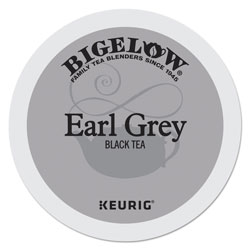 Bigelow Tea Company Earl Grey Tea K-Cup Pack, 24/Box, 4 Box/Carton