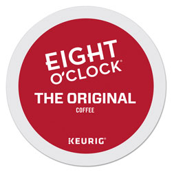 Eight O'Clock Original Coffee K-Cups, 24/Box