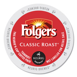 Folgers Gourmet Selections Classic Roast Coffee K-Cups, 96/Carton