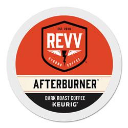 revv® AFTERBURNER K-Cup, Dark Roast, K-Cup, 24/Box