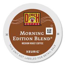 Diedrich Coffee® Morning Edition Coffee K-Cups, 96/Carton