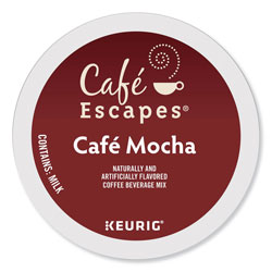 Cafe Escapes® Café Escapes Mocha K-Cups, 24/Box
