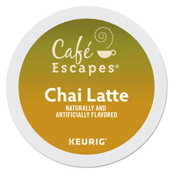 Cafe Escapes® Café Escapes Chai Latte K-Cups, 96/Carton