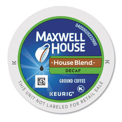 Maxwell House® House Blend Decaf K-Cup, 24/Box