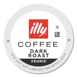 illy® Coffee K-Cup Pods, Dark, 20/Box