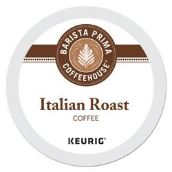 Barista Prima Coffee House® Italian Roast K-Cups Coffee Pack, 24/Box, 4 Box/Carton
