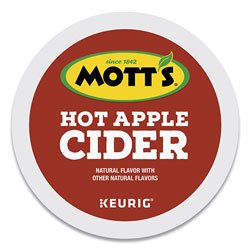 Mott's Inc. Hot Apple Cider K-Cup Pods, 1 oz K-Cup Pod, 24/Box