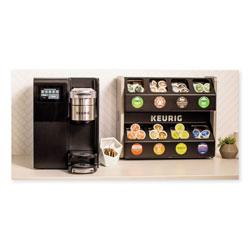 Keurig® K3500 Merchandiser Bundle with 8ct Merchandiser, Single-Cup, Black/Silver