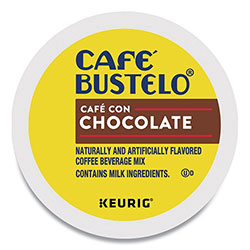 Cafe Bustelo Café con Chocolate K-Cups, 24/Box