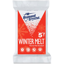 Garland Manufacturing Winter Melt Ice Melter, 10lb, 4/CT, White/Red