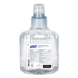 Purell Advanced Hand Sanitizer Foam, LTX-12 1200 mL Refill, Clear, 2/Carton