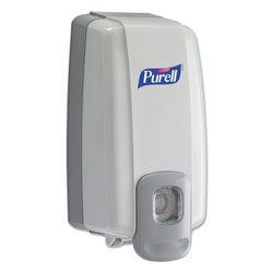Purell NXT SPACE SAVER Dispenser, 1000 mL, 5.13 in x 4 in x 10 in, White/Gray