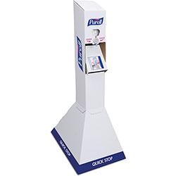Purell NXT Dispenser Quick Floor Stand Kit w/2 Purell NXT 1 Liter Refills