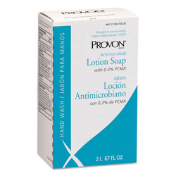 Provon Antimicrobial Lotion Soap with Chloroxylenol, NXT 2 L Refill, 4/Carton