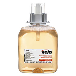 Gojo FMX-12 Foam Hand Wash, Fresh Fruit, Works with FMX-12 Dispenser, 1250 mL Pump