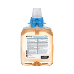 Provon Foaming Antimicrobial Handwash with Moisturizers, Light Fruity Scent, 1250 ml Refill, 4/Carton