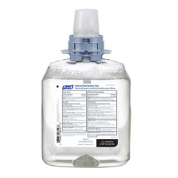 Purell Advanced Hand Sanitizer Foam FMX-12 Refill, 1200 mL, 4/Carton