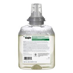 Gojo TFX Green Certified Foam Hand Cleaner Refill, Unscented, 1200mL, 2/Carton