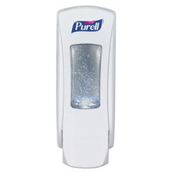 Purell ADX-12 Dispenser, 1200 mL, 4.5 in x 4 in x 11.25 in, White