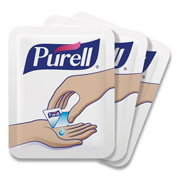 Purell Single Use Advanced Gel Hand Sanitizer, 1.2 mL, Packet, Clear, 2,000/Carton