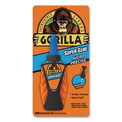 Gorilla Glue Super Glue Micro Precise, 0.19 oz, Dries Clear, 4/Carton