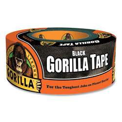 Gorilla Glue Gorilla Tape, 3 in Core, 1.88 in x 12 yds, Black