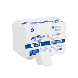 Angel Soft Compact Coreless Bath Tissue, White, 750 Sheets/Roll, 36/Carton