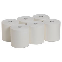 Pacific Blue Ultra Paper Towels, White, 7.87 x 1150 ft, 6 Roll/Carton