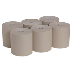 Pacific Blue Ultra Paper Towels, Natural, 7.87 x 1150 ft, 6 Roll/Carton
