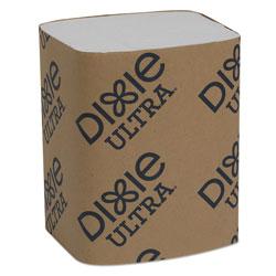 Dixie Interfold Napkin Refills Two-Ply, 6 1/2 in x 9 7/8 in, White, 6000/Carton
