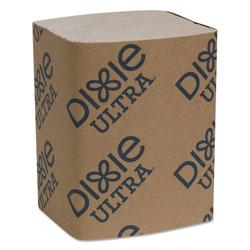 Dixie Interfold Napkin Refills 2-Ply, 6 1/2 in x 9 7/8 in, Brown, 6000/Carton