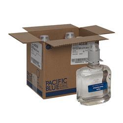 Pacific Blue Ultra E3-Rated Foam Hand Sanitizer Dispenser Refill, Dye and Fragrance Free, 1,000 mL/Bottle, 4 Bottles/Case