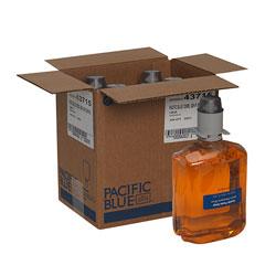 Pacific Blue Ultra Gentle Foam Hand Soap Refills for Manual Dispensers, Pacific Citrus®, 1,200 mL/Bottle, 4 Bottles/Case