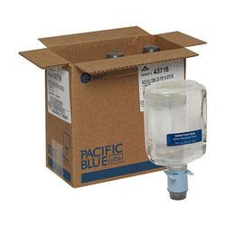 Pacific Blue Ultra Gentle Foam Hand Soap Dispenser Refill, Dye and Fragrance Free, 1,200 mL/Bottle, 3 Bottles/Case