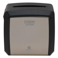 Dixie Tabletop Napkin Dispenser, 7.6 in x 6.1 in x 7.2 in, Stainless