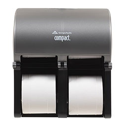 Compact® Quad Vertical Four Roll Coreless Tissue Dispenser