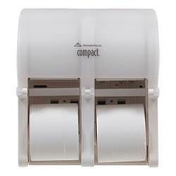 Compact® Quad Vertical Four Roll Coreless Tissue Dispenser