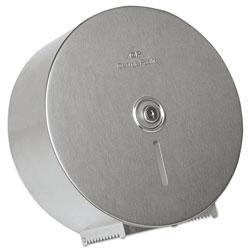 GP Stainless Steel Jumbo Roll Tissue Dispenser, 14 1/4 in Diameter, 4.44 inD