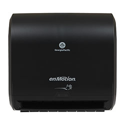 enMotion Impulse® 10 in 1-Roll Automated Touchless Paper Towel Dispenser, Black, 59488A, 14.600 in W x 9.250 in D x 14.000 in
