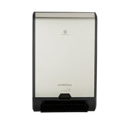 enMotion Flex Recessed Automated Touchless Roll Towel Dispenser, 13.31 in x 7.96 in x 21.25 in, Stainless