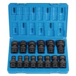 Grey Pneumatic 14 Piece 1/2 in Drive Fractional Universal Impact Socket Set