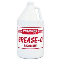 Kess Premier grease-o Extra-Strength Degreaser, 1gal, Bottle, 4/Carton