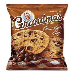Grandma's Cookies - Single Serve, Chocolate Chip, 2.5 oz Packet, 60/Carton