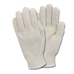 The Safety Zone Men's White String Gloves
