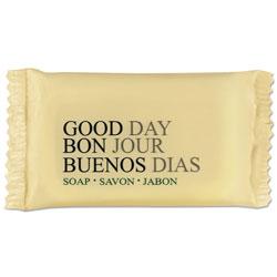 Good Day Amenity Bar Soap, Pleasant Scent, # 1/2, 1,000/Carton