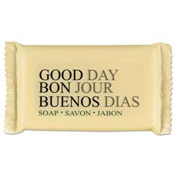 Good Day Amenity Bar Soap, Pleasant Scent, # 1 1/2, 500/Carton